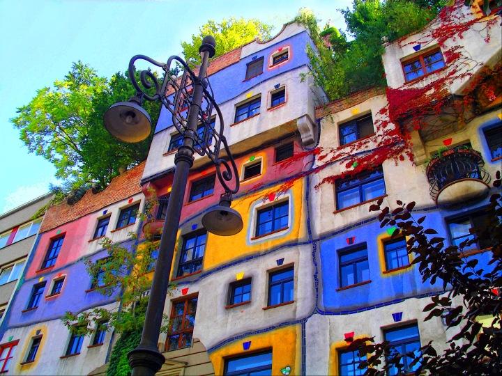 Wien, Hundertwasser Haus, colors