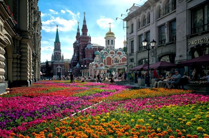夏天的俄羅斯