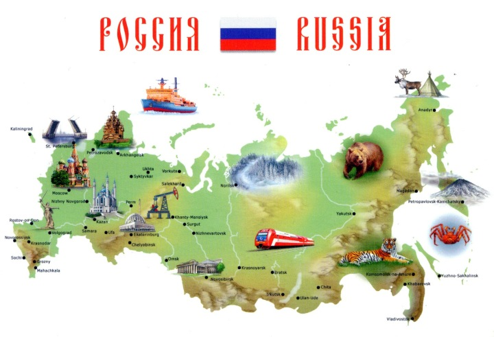 RUSSIA+-+map
