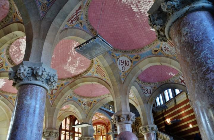 the Hospital de Sant Pau2