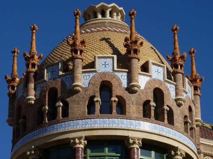 the Hospital de Sant Pau4