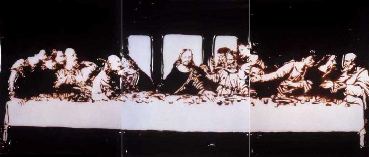 last-supper_chocolate-syrup