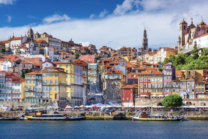 Porto Portugal Old City